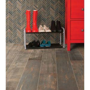 Emberwood-ChevronMosaic | Yuma Carpets