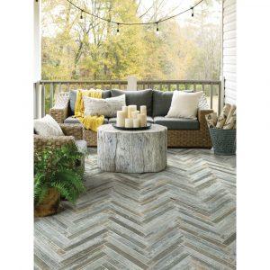 Fusion Herring bone Mosaic | Yuma Carpets