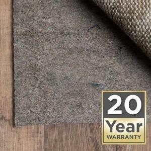 rug pad 20 year warranty | Yuma Carpets