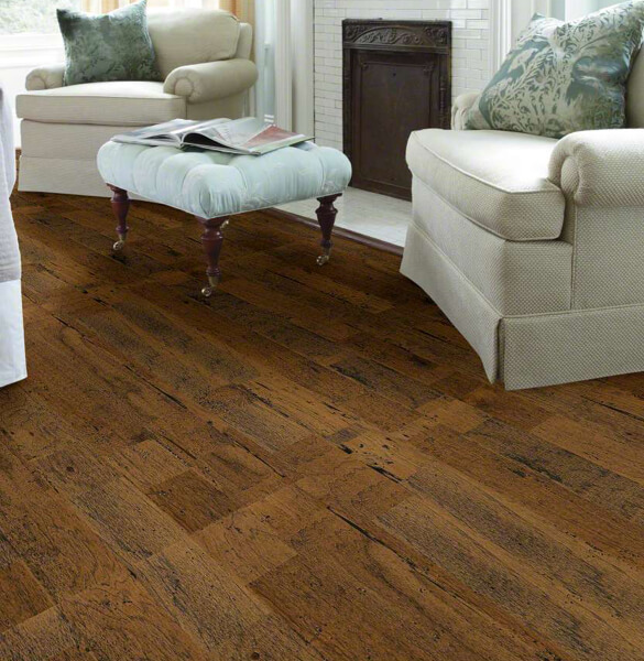 shaw distrassed hardwood flooring | Yuma Carpets