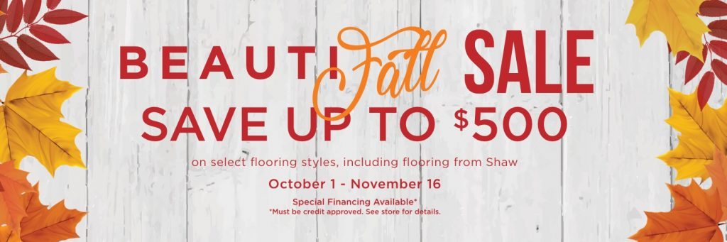 Beautifall sale banner | Yuma Carpets & Tile Inc