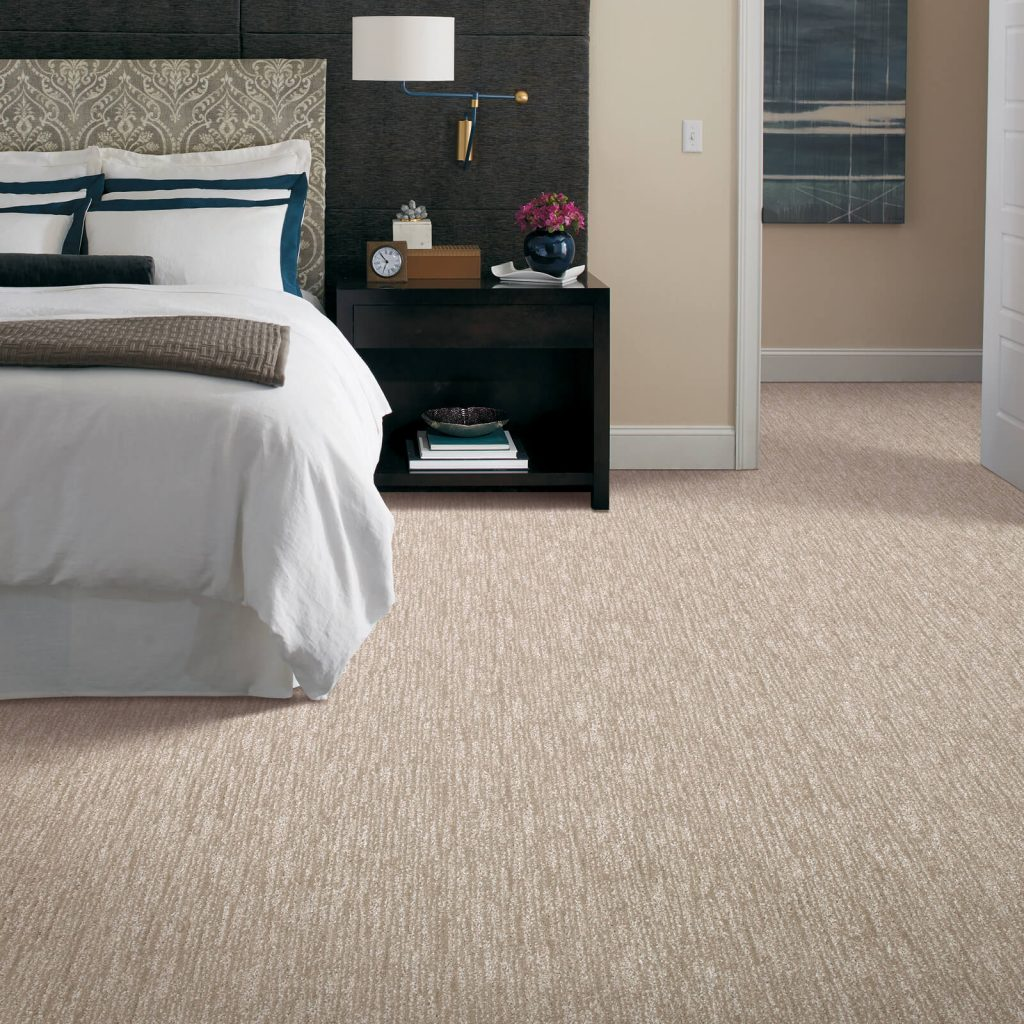New carpet in bedroom | Yuma Carpets & Tile Inc